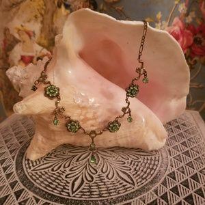 Vintage Kenny Ma Swarovski Crystal Necklace